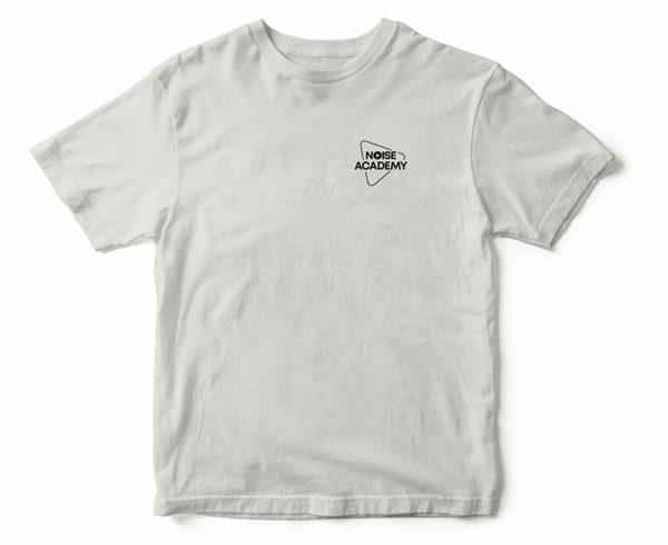 Noise Academy white Tshirt